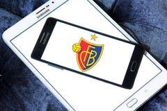 Logotipo do clube do futebol de Fc Basileia Fotos de Stock Royalty Free
