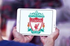 Logotipo do clube do futebol de Liverpool Fotografia de Stock Royalty Free