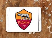Logotipo do clube do futebol de Roma Fotos de Stock