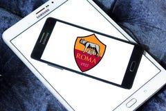 Logotipo do clube do futebol de Roma Imagem de Stock