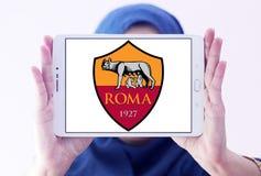 Logotipo do clube do futebol de Roma Imagem de Stock Royalty Free