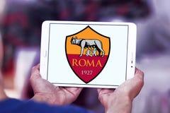 Logotipo do clube do futebol de Roma Fotografia de Stock Royalty Free
