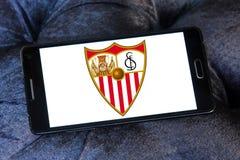 Logotipo do clube do futebol do fc de Sevilha Imagem de Stock