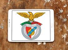 Logotipo do clube do futebol do SL Benfica Fotografia de Stock Royalty Free
