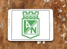 Logotipo do clube do futebol de Atletico Nacional Imagens de Stock Royalty Free