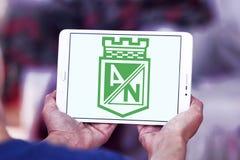 Logotipo do clube do futebol de Atletico Nacional Foto de Stock Royalty Free