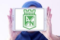 Logotipo do clube do futebol de Atletico Nacional Imagens de Stock