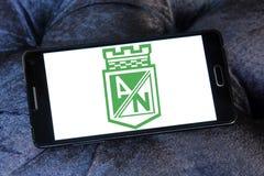 Logotipo do clube do futebol de Atletico Nacional Fotos de Stock