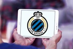 Logotipo do clube do futebol de Bruges do clube Foto de Stock