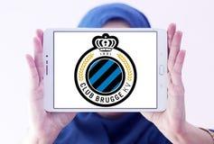 Logotipo do clube do futebol de Bruges do clube Imagens de Stock
