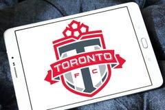 Logotipo do clube do futebol de Toronto FC Fotografia de Stock Royalty Free