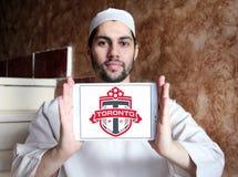 Logotipo do clube do futebol de Toronto FC Fotografia de Stock