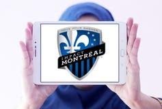 Logotipo do clube do futebol do impacto de Montreal Fotos de Stock Royalty Free
