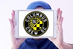 Logotipo do clube do futebol do SC de Columbus Crew Imagem de Stock