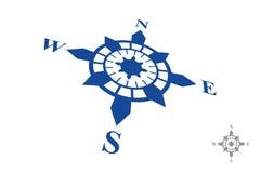 Logotipo do compasso isolado no fundo branco Imagem de Stock