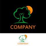 Logotipo do conceito da árvore Imagens de Stock Royalty Free