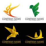 Logotipo do conceito do pássaro Imagem de Stock Royalty Free
