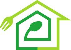 Logotipo do cozimento Home Imagem de Stock