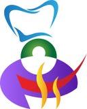 Logotipo do cozinheiro chefe Foto de Stock Royalty Free