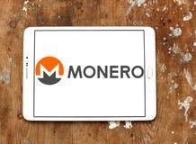 Logotipo do cryptocurrency de Monero Fotografia de Stock Royalty Free