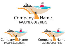 Logotipo do curso disponível Foto de Stock