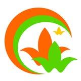Logotipo do desenho do vetor, cores da saúde ilustração do vetor