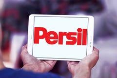 Logotipo do detergente para a roupa de Persil Fotografia de Stock