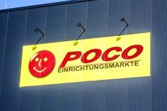 Logotipo do Discounter de POCO Foto de Stock Royalty Free