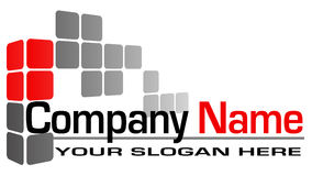 Logotipo do edifício Imagens de Stock Royalty Free