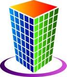 Logotipo do edifício ilustração royalty free