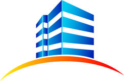 Logotipo do edifício ilustração do vetor