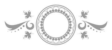 Logotipo do emblema da arte Fotografia de Stock Royalty Free