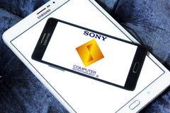 Logotipo do entretenimento do computador de Sony Imagem de Stock Royalty Free