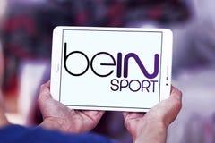 Logotipo do esporte de Bein imagem de stock royalty free