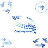Logotipo do estilo da seta Imagem de Stock