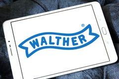 Logotipo do fabricante da arma de Walther Fotografia de Stock