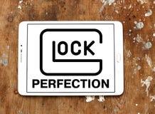 Logotipo do fabricante das armas da perfeição de GLOCK Foto de Stock Royalty Free