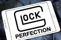 Logotipo do fabricante das armas da perfeição de GLOCK Fotografia de Stock