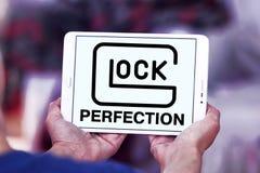 Logotipo do fabricante das armas da perfeição de GLOCK Fotos de Stock Royalty Free