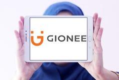 Logotipo do fabricante do smartphone de Gionee Imagens de Stock Royalty Free
