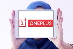 Logotipo do fabricante do smartphone de OnePlus Foto de Stock