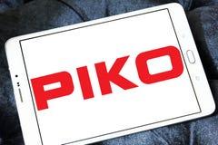 Logotipo do fabricante do trem do modelo de PIKO fotos de stock royalty free