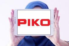 Logotipo do fabricante do trem do modelo de PIKO fotografia de stock