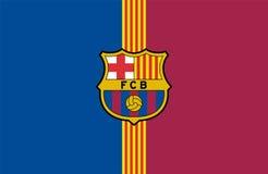 Logotipo do FC Barcelona Fotos de Stock