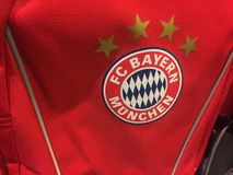 Logotipo do FCB Bayern Munich fotografia de stock royalty free