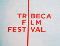 Logotipo do festival de película de Tribeca Imagem de Stock Royalty Free