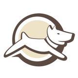 Logotipo do filhote de cachorro Fotos de Stock