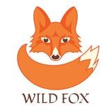 Logotipo do Fox Fotografia de Stock