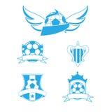 Logotipo do futebol Ilustração Royalty Free