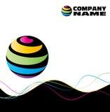 Logotipo do globo ilustração royalty free